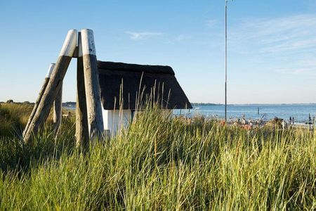 Casa Strandperle Scharbeutz - OT Haffkrug - Strand gegenüber