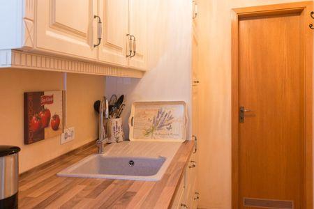 Altes Strandhus Kl.App Casa Ostsee Scharbeutz - OT Haffkrug - Küchenzeile