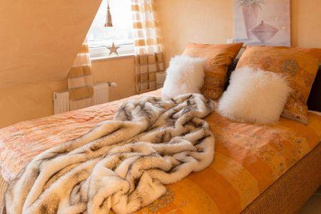 Altes Strandhus Casa Strandmuschel Scharbeutz - OT Haffkrug - 1. Schlafzimmer
