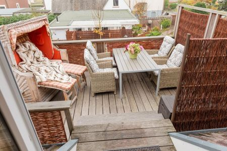 Altes Strandhus Casa Strandmuschel Scharbeutz - OT Haffkrug - Dachterrasse