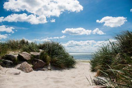Altes Strandhus Casa Meeresbrise Scharbeutz - OT Haffkrug - Umgebung Strand