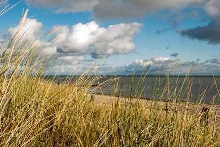 Altes Strandhus Casa Meeresbrise Scharbeutz - OT Haffkrug - Strand im Herbst