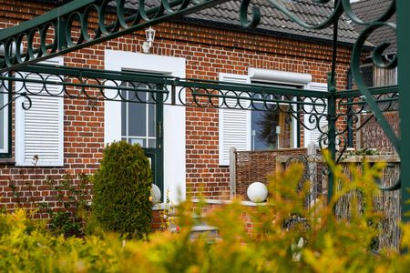 Altes Zollhaus Casa Sandstrand Scharbeutz - OT Haffkrug - Fassade / Eingang