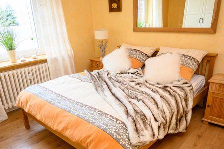 Altes Zollhaus Casa Sandstrand Scharbeutz - OT Haffkrug - Bett