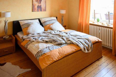 Altes Zollhaus Casa Sandstrand Scharbeutz - OT Haffkrug - Schlafzimmer