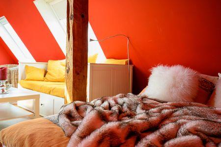 Altes Zollhaus Casa Meerblick Scharbeutz - OT Haffkrug - Bett