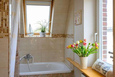 Altes Zollhaus Casa Meerblick Scharbeutz - OT Haffkrug - Badezimmer