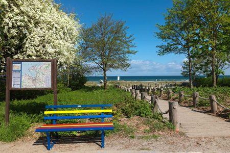 Ostsee Residenz Meeresblick Bellevue Schwarzer Busch - Strand