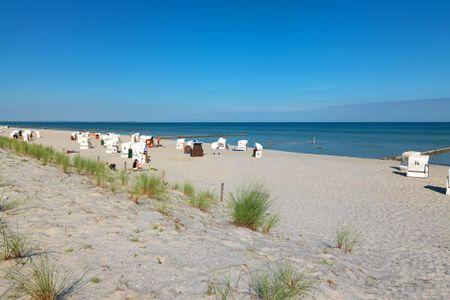 Ostsee Residenz Meeresblick Bellevue Schwarzer Busch - Dieser herrliche Sandstrand liegt Ihnen direkt zu Füßen!