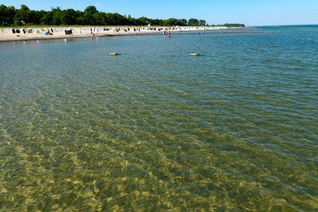 Ostsee Residenz Meeresblick Bellevue Schwarzer Busch - Freuen Sie sich auf einen ungetrübten Badespaß in der kristallklaren Ostsee.