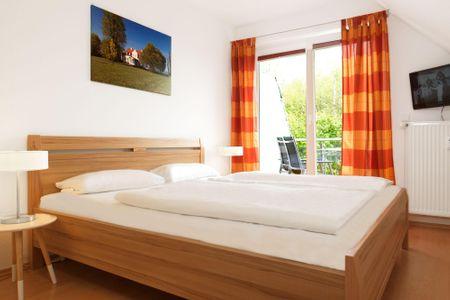 Ostsee Residenz Meeresblick Meeresrauschen Schwarzer Busch - Schlafzimmer