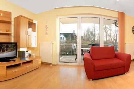 Landhaus Residenz Kirchsee Seegurke Schwarzer Busch - Wohnzimmer