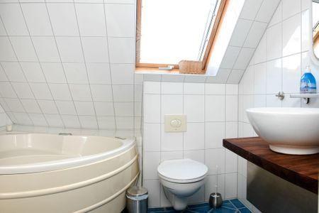 Landhaus Residenz Kirchsee Morgenstern Schwarzer Busch - Badezimmer