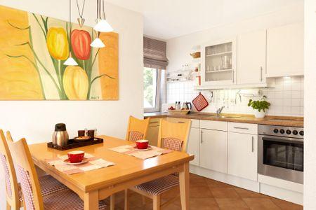 Landhaus Residenz Ostsee Sommerwind Schwarzer Busch - Küche / Küchenzeile