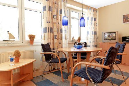 Haus Seeblick Seeblick 5 Schwarzer Busch - Wohnzimmer
