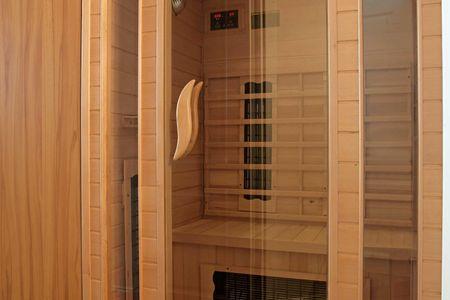Doppelhäuser zum Reetmoor Haus Kirsten Schwarzer Busch - Sauna