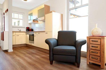 Doppelhäuser zum Reetmoor Haus Kirsten Schwarzer Busch - Küche / Küchenzeile