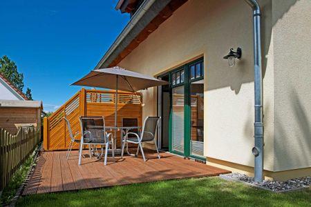 Doppelhäuser zum Reetmoor Haus Kirsten Schwarzer Busch - Terrasse