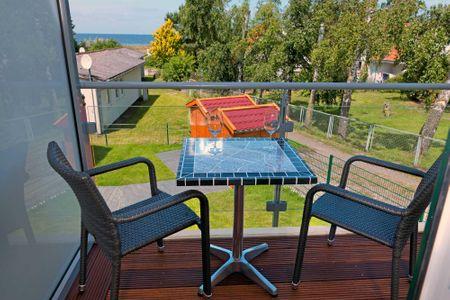Doppelhäuser zum Reetmoor Haus Hannah Schwarzer Busch - Balkon