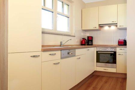 Doppelhäuser zum Reetmoor Haus Hannah Schwarzer Busch - Küche / Küchenzeile