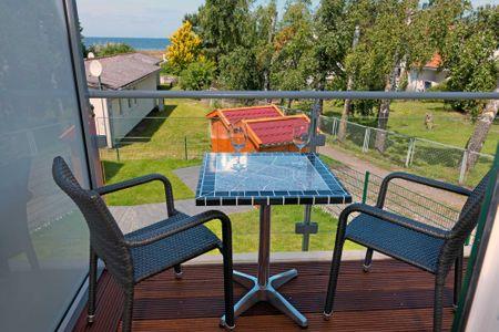 Doppelhäuser zum Reetmoor Haus Friederike Schwarzer Busch - Balkon
