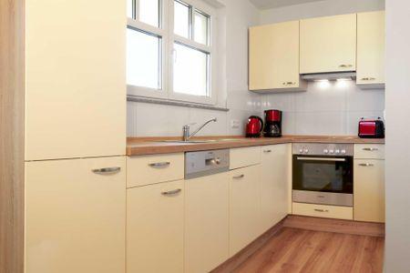 Doppelhäuser zum Reetmoor Haus Friederike Schwarzer Busch - Küche / Küchenzeile