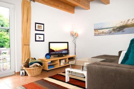 Haus Meerforelle Haus Meerforelle Wohnung 1 Kaltenhof - Wohnzimmer