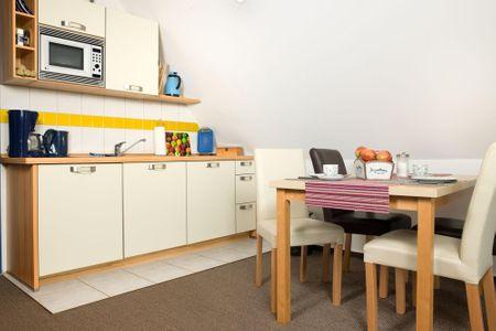 Haus Meerforelle Haus Meerforelle Wohnung 2 Kaltenhof - Küche / Küchenzeile