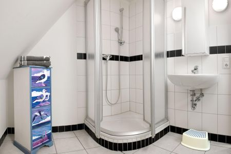 Haus Meerforelle Haus Meerforelle Wohnung 2 Kaltenhof - Badezimmer