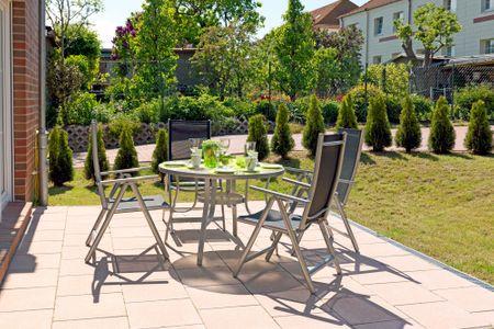 Steinfurths Hüsing Gartenoase Kirchdorf - Terrasse