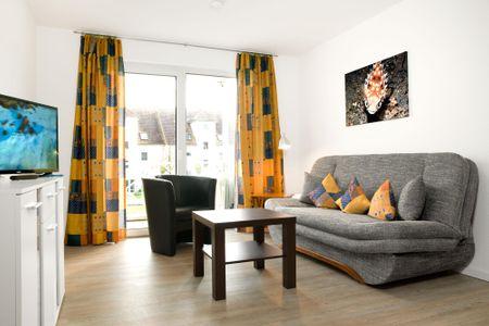 Residenz am Yachthafen Kugelfisch Kirchdorf - Wohnzimmer