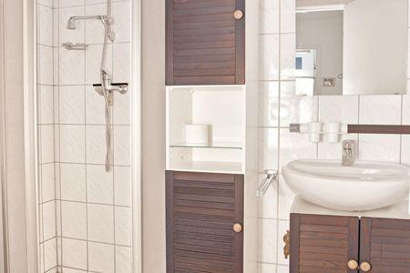 Buchenweg Poeler Perle Kirchdorf - Badezimmer