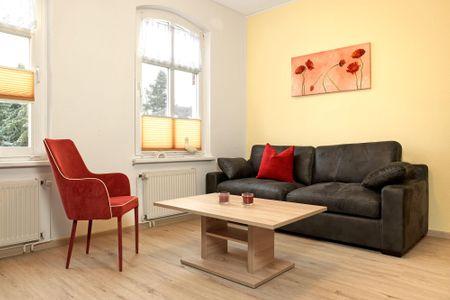 Haus Möwenschrei Lachmöwe Kirchdorf - Wohnzimmer