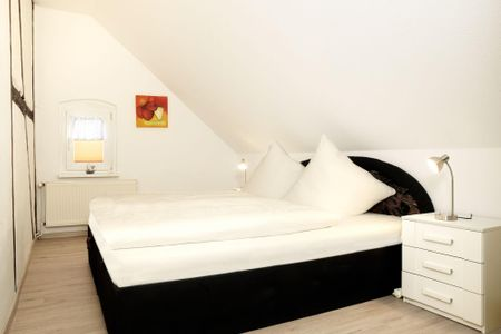 Haus Möwenschrei Lachmöwe Kirchdorf - Schlafzimmer