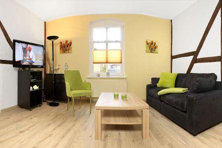 Haus Möwenschrei Graumöwe Kirchdorf - Wohnzimmer