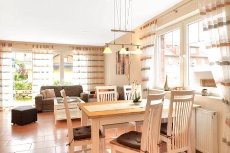 Doppelhäuser Timmendorf Strand Haus Seeschwalbe Timmendorf Strand - Wohnzimmer