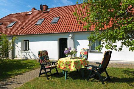 Reihenhäuser Timmendorf Haus Ostseekrabbe Timmendorf - Terrasse