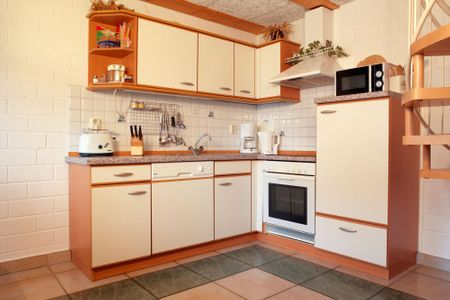 Reihenhäuser Timmendorf Haus Ostseekrabbe Timmendorf - Küche / Küchenzeile