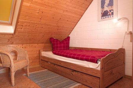 Reihenhäuser Timmendorf Haus Ostseekrabbe Timmendorf - Schlafzimmer