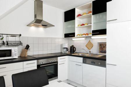 Appartements Am Reiterhof Meerzeit Timmendorf - Küche / Küchenzeile
