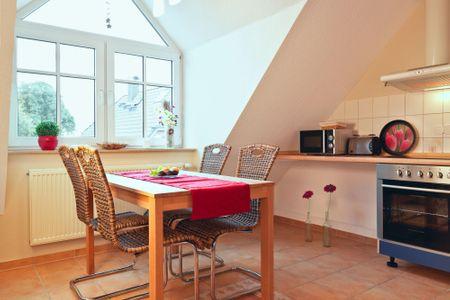 Appartements Am Reiterhof Am Reiterhof Timmendorf - Küche / Küchenzeile