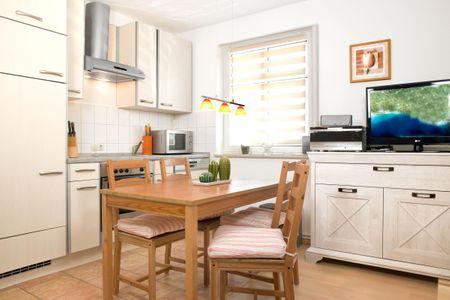 Appartements Am Reiterhof Strandträumer Timmendorf - Küche / Küchenzeile