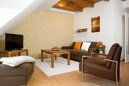 Appartements Am Reiterhof Seepferdchen Timmendorf - Wohnzimmer