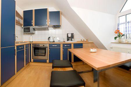Appartements Am Reiterhof Seepferdchen Timmendorf - Küche / Küchenzeile