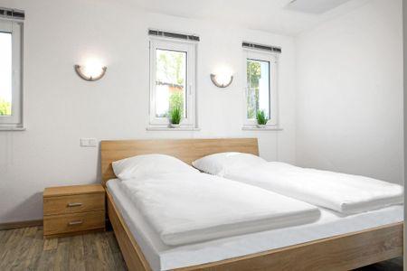 Bungalow an der Steilküste Timmendorf Strand - Schlafzimmer