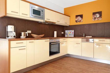 Haus Südwester Ringelrobbe Timmendorf Strand - Küche / Küchenzeile