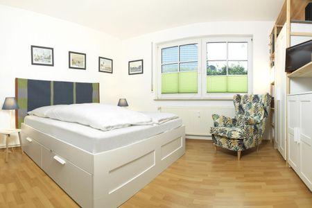 Appartements Am Reiterhof Am Reitstall Timmendorf - Schlafzimmer