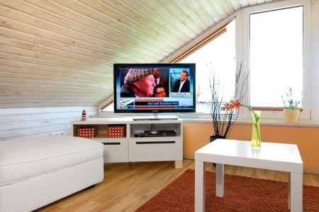 Hus in de Sünn Brandenhusen - Wohnzimmer