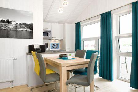 Dänische Ferienhäuser am Salzhaff Haus Im Wiesengrund Vorwerk - Wohnzimmer