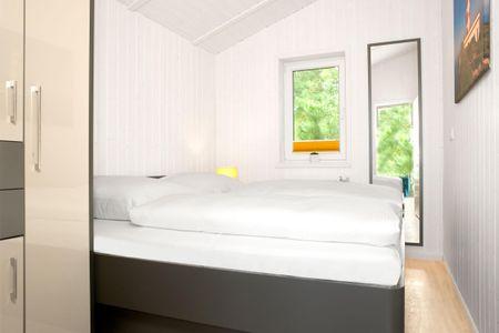 Dänische Ferienhäuser am Salzhaff Haus Im Wiesengrund Vorwerk - Schlafzimmer